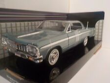 Chevrolet Impala 1964 - Blue  1/24 Diecast Metal Model Car Motormax