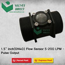 1.5 inch(DN40) Flow Sensor 5-200LPM-Pulse Output-Suitable for WaterMe Controller