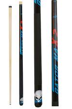 Champion Gator X2 Billiard Pool Cue Stick, 11.75mm, Cuetec Billiards Glove