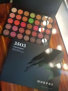MORPHE * 3503 Fierce By Nature * Artistry 100% AUTHENTIC Eyeshadow Palette NIB