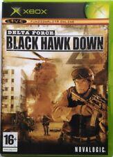 Gioco Xbox Delta Force - Black Hawk Down - Novalogic Usato