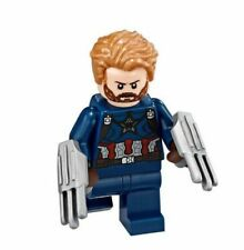 LEGO Marvel CAPTAIN AMERICA sh495 from 76101 Outrider Dropship Attack
