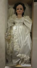 VINTAGE SEYMOUR MANNCONNOISSEUR COLLECTION LIMITED EDITION BRIDE DOLL IN BOX