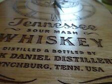 Jumbo Jack Daniels Wall Clock  engraved wood 300x400 A3 size man cave bar sign