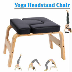 Yoga Headstand Chair Inversion Bench Stool Home Gym Fitness Equipment
