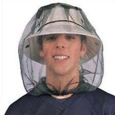 Moskito Kopfnetz Mückennetz grün Mosquito Headnet Kopfschutz Moskitonetz klein