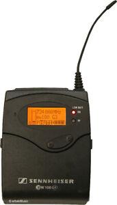 SENNHEISER EK100 EK 100 G3 PORTABLER EMPFÄNGER Frq: 734 - 776 MHz C BAND 1J GEWÄ