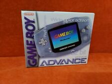 Nintendo Gameboy Advance in Original Box ~ Glacier ~ AGB-001 ~ Tested & Working