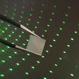 2pcs Star Diffraction Gratings Lens 8*8mm  for Star Laser Show Stage lighting