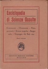 Enciclopedia di scienze occulte, Istituto Hermes, 1928, Biblioteca Hermes, magia