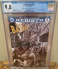 All Star Batman #1 CGC 9.8 4th World Comics Bermejo Sketch Wraparound Variant