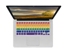 Rainbow Design Keyboard Cover for MacBook/Air 13/Pro (2008+)/Retina & Wireless
