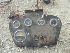 International Farmall 460 Utility Ih Tractor Orignl Dash Panel Gauges Tachometer