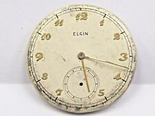 Antique Elgin Pocket Watch Movement 15 jewels, 37 mm #E458377.