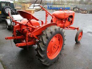Allis Chalmers Model B antique running tractor
