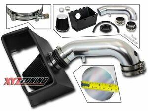 "3.5"" BLACK Heat Shield Cold Air Intake For 09-15 Dodge Ram 1500/2500 5.7L V8"