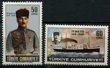 Turkey 1969 SG#2279-80 Kemal Ataturk MNH Set #D62278