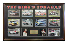 PETER BROCK THE KING'S TORANAS LIMITED EDITION OF 100 FROM 1971 TO 1979 COA