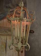 Antik Kronleuchter Landhaus Kerzenleuchter Leuchter Hängend Shabby Chic Weiss