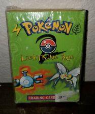 Lightning Bug Pokemon Theme Deck Base Set 2 Sealed (Squished Box) New, Complete