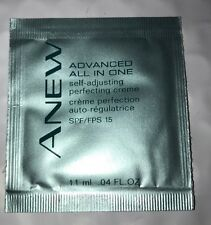 Avon Anew Advanced All in One Self-Adjusting Perfecting Cream .04 fl (2) Samples