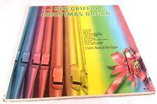 Ken Griffin Style Christmas Organ Vintage Record Album