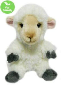 SHEEP 18CM eco friendly plush soft toy 100% recycled polyester fibre kids cuddly