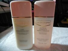Lot 2 La Therapie Paris Cleansing Milk & Toning Lotion w/o Alcohol for all skin