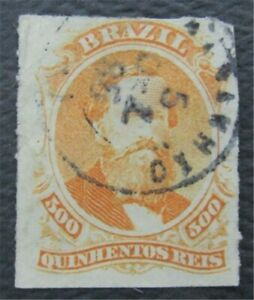 nystamps Brazil Stamp # 67 Used    O22x294