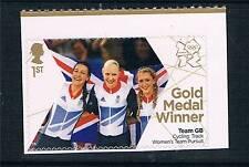 GB 2012 OLYMPIC GOLD MEDAL CYCLING TROTT/KING/ROWSELL 1V S/ADH