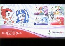 Singapore  STAMP First Day Cover FDC-  2010  Youth Olympic Game