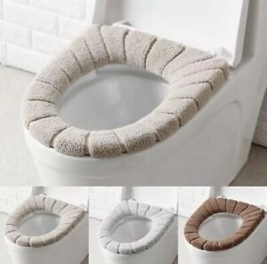 Replaceable- thickened toilet seat cover warm soft washable Mat winter Seat case