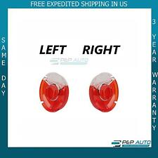 BMW  2002 Tail Light Lens set: Left/Right Red center Version 66-70 1602 2002tii