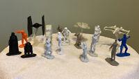 Star Wars Command Army Men Mini Figure Battle Vehicles Lucasfilm Hasbro 2014 Lot
