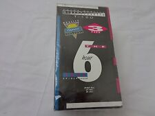Walmart Brand VHS 6 Hours T-120 Blank Tapes 3 Pack Sealed--NIP