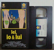 VHS FILM Ita Commedia LEI,IO & LUI griffin dunner 1001102 no dvd(VHS7)