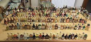 bottigliette liquori mignon Circa 130 Pezzi