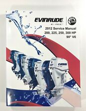 2012 BRP Evinrude IN E-TEC 200 225 250 300 HP 90° V6 Service Shop Manual 5008740