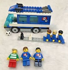 LEGO SPORTS 3406 TEAM Transport Bus Soccer/Football WORLD CUP Canada Team