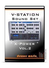 """Novation V-Station """"X-POWER"""" VOL.2 - 100 Sound Patches / Sound Presets"""