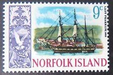 1967-1968 Norfolk Island Stamps - Ships - Single 9c MNH