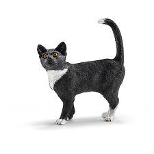 Schleich®  Farm Life  13770   Katze, stehend, NEU mit Schleich®-Fahne, DHL-Paket