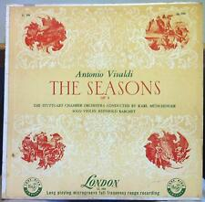 Reinhold Barchet & Munchinger - Vivaldi Seasons LP VG+ LL 386 UK FFrr 50s Mono