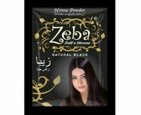 Pack of 5 Zeba Indian Herbal Henna Hina Hair Color Dye Amla Aritha Shikakai