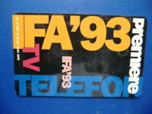 deutsche Telefonkarte K 486 A 05.93 Premiere  PayTV 6 DM selten rar