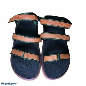 Men's Timberland Strappy Leather Sandals Size XL