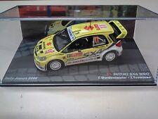DIECAST IXO 1/43 SUZUKI SX4 WRC RALLY JAPAN 2008 GARDEMEISTER - TUOMINEN CAR