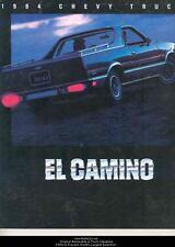 1984 Chevrolet El Camino Sales Brochure mw6992-5DWTV6