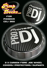 PIONEER PRO DJ (s) CDJ in fibra di carbonio SLIPMATS 350 CDJ350-DJM-NEXUS