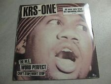 """KRS-ONE THE MC CAN'T STOP 12"""" SEALED BDP BRAND NUBIAN JUST ICE REDMAN Roc Raida"""